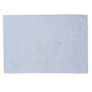Covorase de baie albe Bianca 50 x 70 cm
