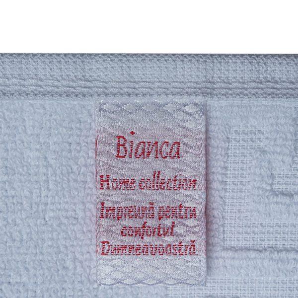 Prosop de maini Alb Bianca 30×50 cm