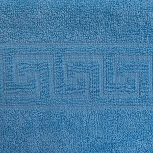 Prosop de baie albastru Bianca 70 x 140 cm